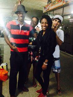 Rolezinho em Santos com a família... Aaaamoooo...