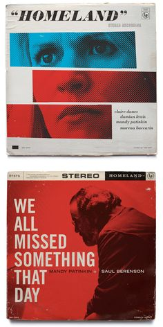 Homeland-Inspired Vintage Record Covers by Ty Mattson | Inspiration Grid | Design Inspiration