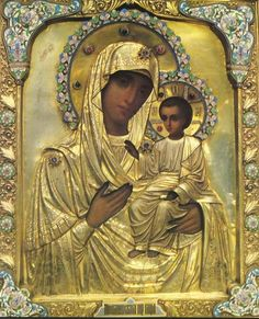 "Ícone da Mãe de Deus ""LJuBLINSKAJa"""