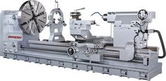 """Now this is Sexy! Every backyard machinist should have one, GTD-60 Heavy Duty Big Bore Engine Lathe - 60"""" Swing, upto 315"""" Between Centers via http://ganeshmachinery.com"""