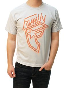 Famous Stars And Straps Boy's Neon Wildcat Youth Graphic T-Shirt