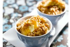 Baked Custard with Caramel Syrup Recipe from Rice Krispies