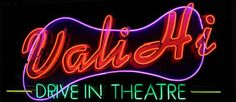 Vali-Hi Drive-In Movie Theater - just like back in the grandparents' day!  $8.50/adult.  $1/Kids 6-12, under 6 free.