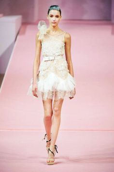 Alexis Mabille Spring 2013 Couture Runway