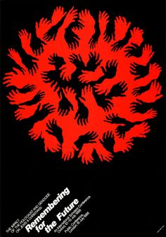 Japanese Poster: Remembering for the Future. Shigeo Fukuda. 1989