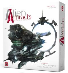 Alien Artifacts cardgame box cover