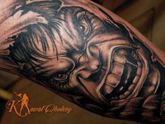 #tattoo# #hulk##tatuaż elbląg# #elbląg#