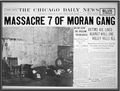 Newspaper Report of the St.Valentines Day Massacre