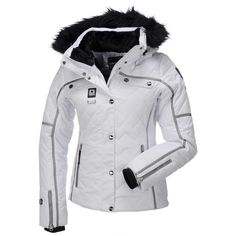 IcePeak, Ofra-I, Wadded Ski Jacket, Women, Optic White