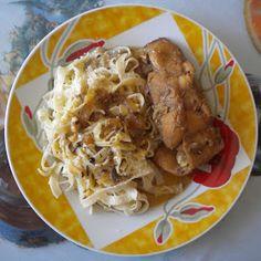Shogun's Kitchen: ΚΟΥΝΕΛΙ ΣΤΗΝ ΚΑΤΣΑΡΟΛΑ ΜΕ ΜΠΥΡΑ ΚΑΙ ΧΥΛΟΠΙΤΕΣ Pork, Cooking Recipes, Meat, Chicken, Whimsical, Kale Stir Fry, Chef Recipes, Pork Chops