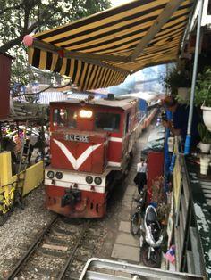 Train street in Hanoi, the new selfie capital. Hanoi, Train, Selfie, Street, Roads, Walkway, Trains, Selfies