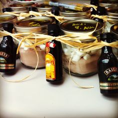 Life, Love and the Pursuit of Shoes: Last Minute Gift: Hot Chocolate & Baileys Jar