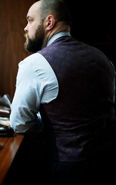 Liverano & Liverano Abito Con Gilet with silk backed waistcoat
