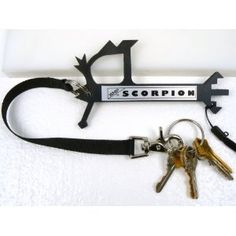 WHIP SCORPION PROTECTOR SELF DEFENSE KEYCHAIN