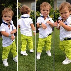 This kid has so much style!