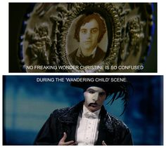 Get the joke ? Lol He was Gustave Daa'e in the phantom of the opera movie and is now the phantom in the musical !!!!!!