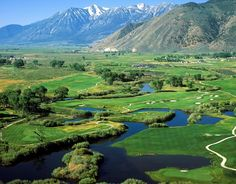 Genoa Lakes Golf Course-Lake Tahoe   offers two championship golf courses within two miles of each other . You'll be awestruck by the encompassing views of the Carson Valley and the wide array of wildlife as you make your way around the incredible layout.  #Resortime