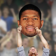 Fathead NBA Indiana Pacers Paul George Big Head Wall Decal - 1091-00645