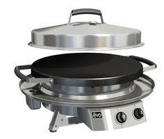 "Evo Grill Tabletop 30"" Professional Classic Circular Flat Top Grill"