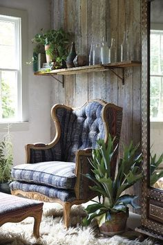 {I FEEL LIKE THIS CHAIR GETS ME} Embroidered Kaili Armchair - anthropologie.com