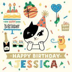 Happy Birthday Jessica!