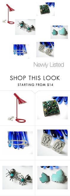 """Newly Listed Items at FindCharlotte on Etsy"" by findcharlotte ❤ liked on Polyvore featuring vintage"