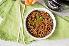 Lo Mein is one of our favorite vegetarian dinners, so trying Instant Pot Lo Mein was something we were excited to try! Instant Pot Lo Mein If you don't have an Instant Pot yet, make sure you check for deals (grab it when it's under $100 here)! If you have an Instant Pot but haven't taken it out of the box yet, this dish is a great one to start with. It's simple, and you can switch some of the spices up a bit if you want, without messing anything up. Ingredients: 2 cups partial...