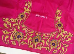 Pink Magic..!!!BLOUSE CODE: B086Kindly inbox/ email us for price details Call us/ Whatsapp/ Viber: 9894614882Email: shrishas.sai@gmail.comShipping worldwideDelivery within 5 working Days  25 November 2016