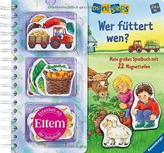 ministeps® Bücher: Wer füttert wen?: Mein großes Spielbuch mit 22 Magnetteilen.  Ab 24 Monaten von Irmgard Eberhard http://www.amazon.de/dp/3473316318/ref=cm_sw_r_pi_dp_5Q8Xvb0HPBWB0