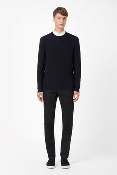 COS   Reversed knit jumper