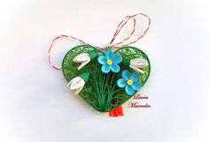 quilling my passion: Martisoare Quilling Work, Quilling Jewelry, Quilling Craft, Quilling Flowers, Quilling Patterns, Quilling Designs, Paper Quilling, Polymer Clay Jewelry, Quilling Ideas