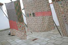 mantas   quilts by Rosa Pomar, via Flickr