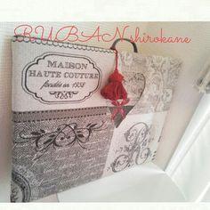 フランスのジャガードでアイロン台を作ろう♪ #カルトナージュ #アイロン台 フランス #ジャガード生地 #cartonnage #ironing board #hand made #france