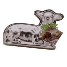 one of many lamb cake pans for your Easter Lamb cake, but if you are going to do it, get ready now.