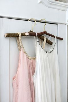 Branch cloth hanger Diy