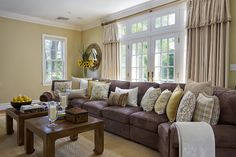 Living Photos French Country Family Room Design, Pictures, Remodel, Decor and Ideas - page 23