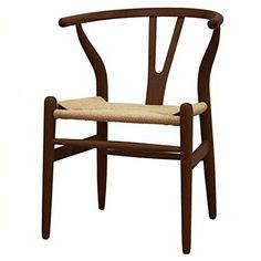 Atlin Designs Dining Chair in Dark Brown (Set of 2)