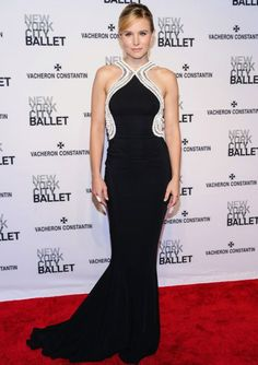 #KristenBell at the New York City Ballet 2014 Spring Gala