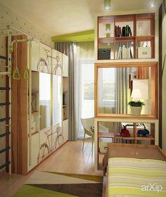 Фото Интерьер детской - интерьер, зd визуализация, квартира, дом, детская…