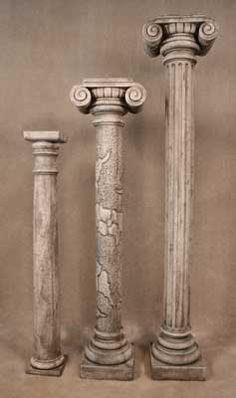 Round Deco Column, Leaf Column, Roman Column  SKU: 3921-3922-3923