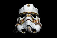 Stormtrooper Helmet made from Adidas shoes. #starwars #stormtrooper #adidas