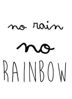 ❁❀Epinglé par CM ❃✿No Rain no Rainbow
