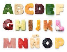 Tipografia comestível: bom apetite!   Des1gn ON - Blog de Design e Inspiração.