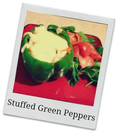 http://lifeispoppin.com | Stuffed Green Peppers Recipe Thinking of replacing rice with quinoa