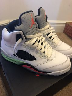 new concept 8ff65 52307 Air jordan retro 5 Infrared Space jam  fashion  clothing  shoes   accessories