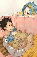Gajevy from the Fairy Tail manga and anime Fairy Tail Levy, Fairy Tail Ships, Anime Fairy Tail, Fairytail, Gruvia, Gajevy Smut, Doujinshi, Ghibli, Kawaii