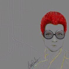 Cool specs #wip #art #artist #artwork #draw #digital #dailyart #drawing #fashionsketch #fashion #fashionsketch #fashionillustration #instaart #illustration #painting #photoshop #redhead