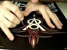 System VonDutch Lives (Pinstriping - Neimar L. Duarte) - YouTube
