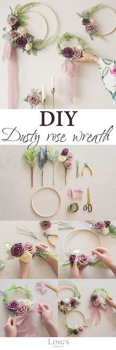 Find 2018 fall wedding color schemes, 10 colors dusty artificial rose, OFF! Find 2018 fall wedding color schemes, 10 colors dusty artificial rose, OFF! Staubige Rose, Dusty Rose, Rose Stem, Diy And Crafts, Arts And Crafts, Fall Crafts, Deco Floral, Floral Design, Fall Wedding Colors