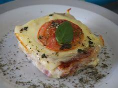Cake da Nâna: misto quente de forno